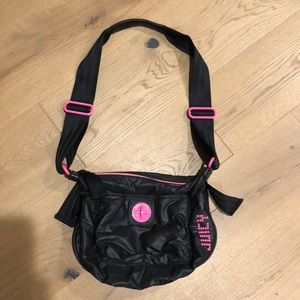Juicy Couture Polyester and Leather Purse
